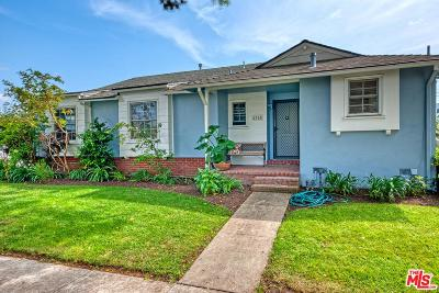 Culver City Single Family Home For Sale: 4315 Vinton Avenue