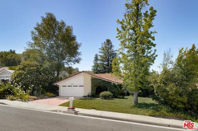 Agoura Hills Single Family Home Active Under Contract: 28834 Barragan Street