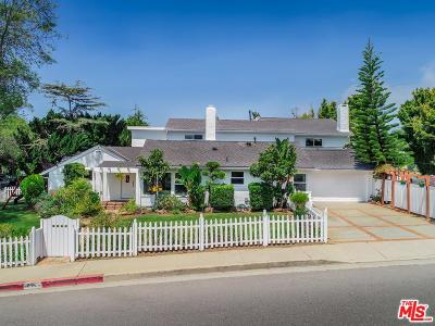 Pacific Palisades Single Family Home For Sale: 17001 Bollinger Drive
