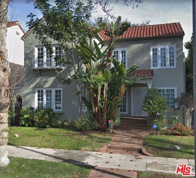 Beverly Hills Rental For Rent: 228 North Almont Drive