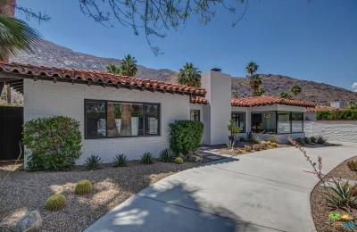 Palm Springs Single Family Home For Sale: 371 South Pablo Drive