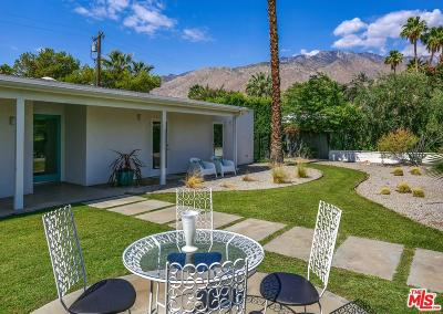 Palm Springs Single Family Home Active Under Contract: 1075 East Olive Way