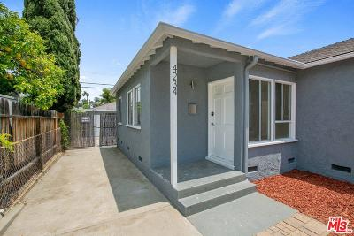 Los Angeles Single Family Home For Sale: 4232 Verdugo Road