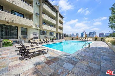 Los Angeles County Condo/Townhouse Active Under Contract: 10982 Roebling Avenue #427