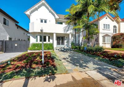 Los Angeles Single Family Home For Sale: 223 North Lucerne Boulevard