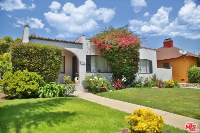 Los Angeles Single Family Home Active Under Contract: 3007 Cardiff Avenue