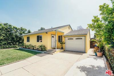 Encino Single Family Home For Sale: 5900 Alonzo Avenue
