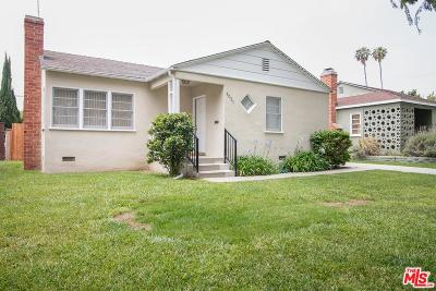 Culver City Single Family Home For Sale: 4031 Albright Avenue