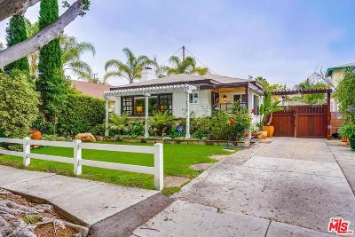 Santa Monica Single Family Home For Sale: 2515 32nd Street
