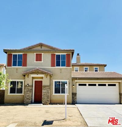 Palmdale Single Family Home For Sale: 1326 Stanfill Road