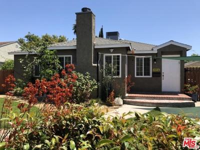 Sherman Oaks Single Family Home Active Under Contract: 14716 Killion Street