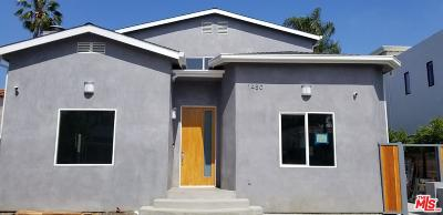 Beverlywood Vicinity (C09) Rental For Rent: 1480 South Durango Avenue