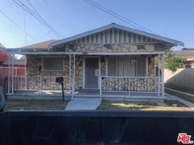 Los Angeles County Single Family Home For Sale: 661 West 65th Street