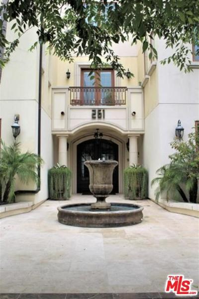 Beverly Hills Rental For Rent: 261 South Reeves Drive #303