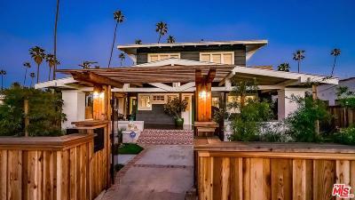 Venice Single Family Home For Sale: 708 Victoria Avenue