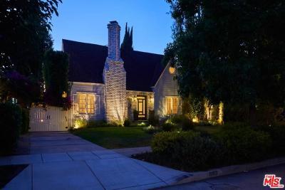 Hancock Park-Wilshire (C18) Single Family Home For Sale: 843 South Citrus Avenue