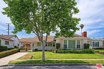 Los Angeles Single Family Home For Sale: 6107 South Croft Avenue