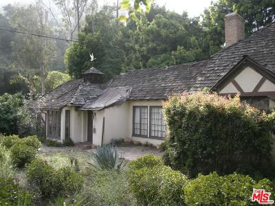 Single Family Home For Sale: 1914 Laurel Canyon