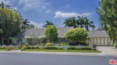 Toluca Lake Single Family Home For Sale: 10422 Kling Street