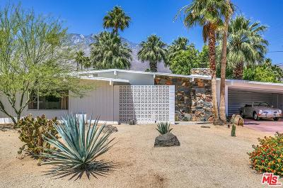 Palm Springs Single Family Home Active Under Contract: 225 North Sybil Road