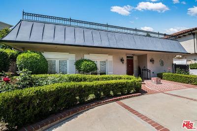 Toluca Lake Single Family Home For Sale: 10349 Woodbridge Street