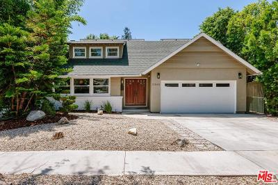 Sherman Oaks Single Family Home Active Under Contract: 13848 Cumpston Street