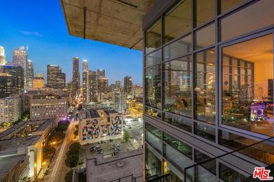 Los Angeles Condo/Townhouse For Sale: 1100 South Hope Street #1904