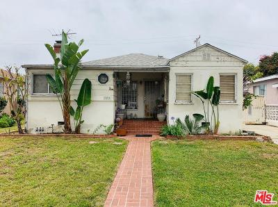 Culver City Single Family Home Active Under Contract: 11237 Braddock Drive