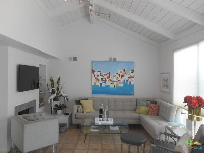 Palm Springs Condo/Townhouse For Sale: 2355 Miramonte Circle #D