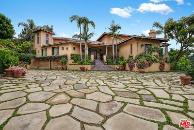 Pacific Palisades Single Family Home For Sale: 16829 Monte Hermoso Drive