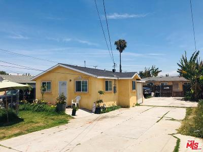 Inglewood Residential Income Active Under Contract: 10814 South Freeman Avenue
