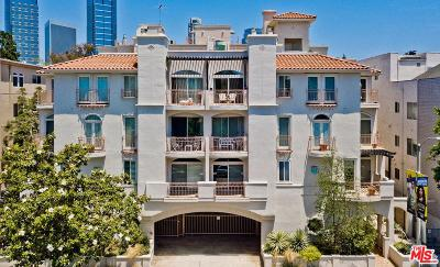 Los Angeles County Condo/Townhouse Active Under Contract: 1920 South Beverly Glen #106