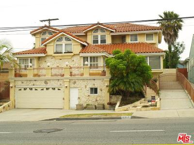 Single Family Home For Sale: 5317 Angeles Vista
