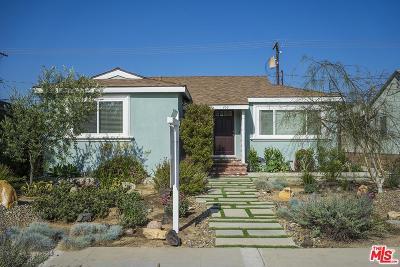 Burbank Single Family Home Active Under Contract: 433 North Cordova Street