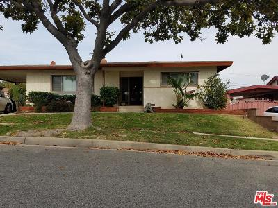 Inglewood Single Family Home Active Under Contract: 10502 South 6th Avenue