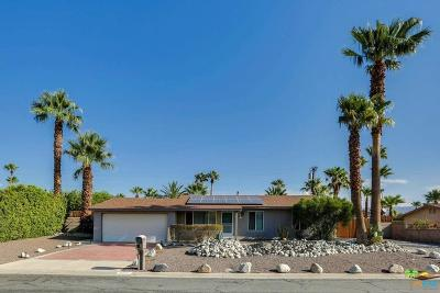 Palm Springs Single Family Home Active Under Contract: 2292 East Bellamy Road