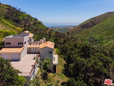 Malibu Single Family Home For Sale: 4345 Escondido Trails