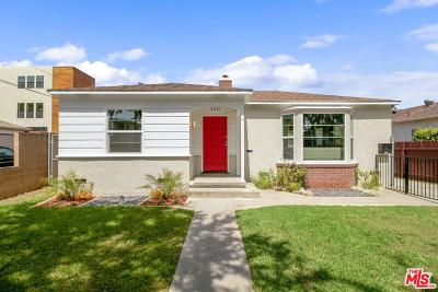 Culver City Single Family Home For Sale: 4016 Wasatch Avenue