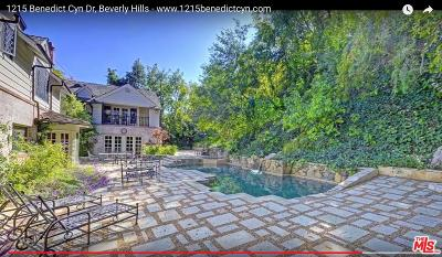 Beverly Hills Rental For Rent: 1215 Benedict Canyon Drive