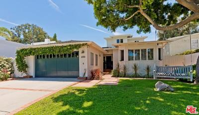 Pacific Palisades Single Family Home For Sale: 650 North Las Casas Avenue