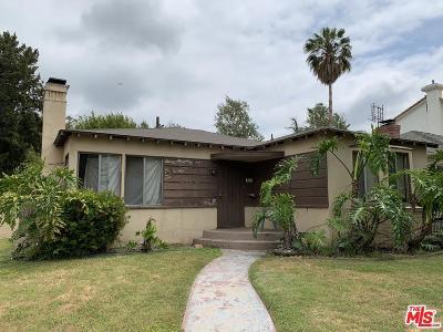 Studio City Single Family Home For Sale: 4332 Alcove Avenue