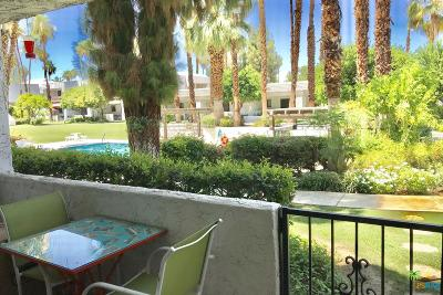 Palm Springs Condo/Townhouse Active Under Contract: 5301 East Waverly Drive #137