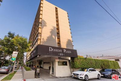 Los Angeles County Condo/Townhouse For Sale: 818 North Doheny Drive #1001