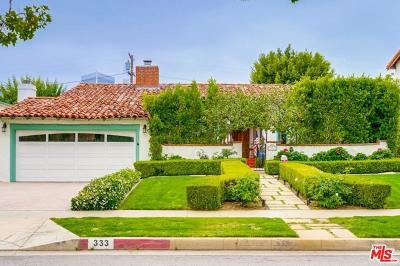Beverly Hills CA Single Family Home For Sale: $3,795,000