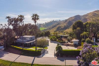 Los Angeles County Single Family Home For Sale: 3431 Coast View Drive