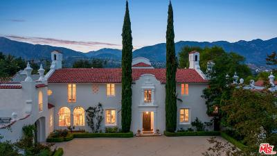 La Canada Flintridge Single Family Home For Sale: 887 Flintridge Avenue