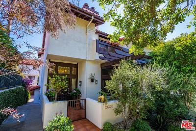 Pacific Palisades Condo/Townhouse For Sale: 1824 Palisades Drive