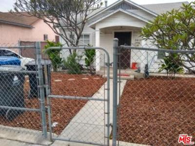 Los Angeles County Single Family Home Active Under Contract: 2419 Hauser Boulevard