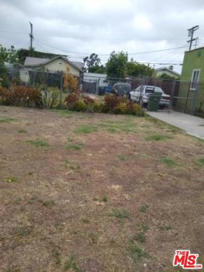 Los Angeles County Single Family Home Active Under Contract: 2405 Hauser Boulevard