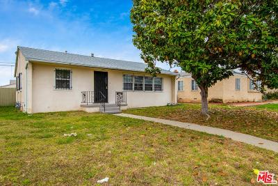 Los Angeles Single Family Home For Sale: 1703 West Imperial Highway